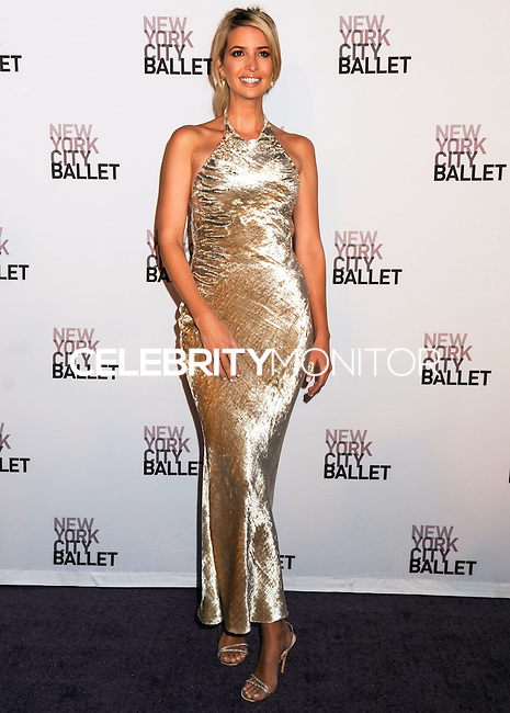 NEW YORK CITY, NY, USA - SEPTEMBER 23: Ivanka Trump arrives at the New York City Ballet 2014 Fall Gala held at the David H. Koch Theatre at Lincoln Center on September 23, 2014 in New York City, New York, United States. (Photo by Celebrity Monitor)