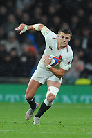Henry Slade of England in action during the Quilter International match between England and New Zealand at Twickenham Stadium on Saturday 10th November 2018 (Photo by Rob Munro/Stewart Communications)
