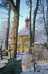 Russian Orthodox church in Bialowieza,   Eastern Border of Poland.