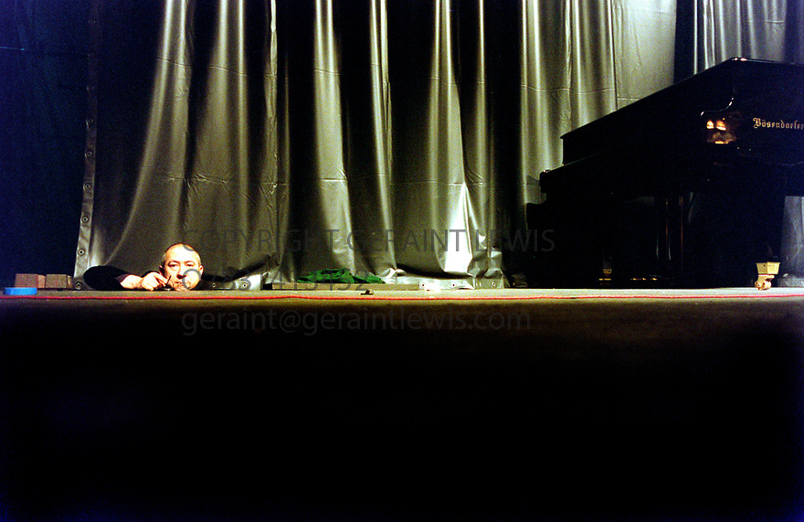 Christian Boltanski, French Sculptor, photographer, painter and film maker. Known for his Photography Installations and French Conceptual style. 3/96. CREDIT Geraint Lewis