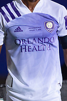 LAKE BUENA VISTA, FL - AUGUST 11: Nani #17 of Orlando City SC waits for the corner during a game between Orlando City SC and Portland Timbers at ESPN Wide World of Sports on August 11, 2020 in Lake Buena Vista, Florida.