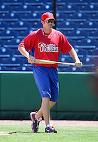 March 30, 2010:  Pitcher Eric Massingham of the Philadelphia Phillies organization during Spring Training at Bright House Field in Clearwater, FL.  Photo By Mike Janes/Four Seam Images