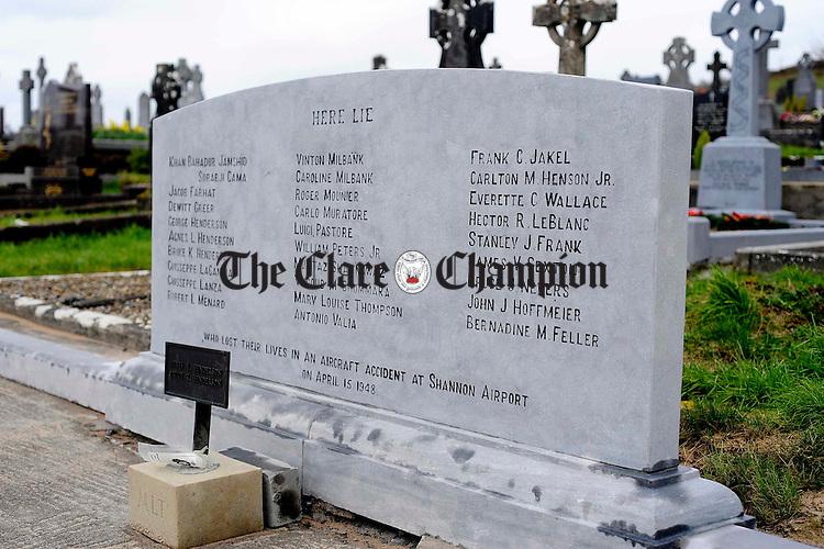 Drumcliff cemetery.Pic Arthur Ellis.