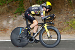 Sepp Kuss (USA) Jumbo-Visma in action during Stage 1 of La Vuelta d'Espana 2021, a 7.1km individual time trial around Burgos, Spain. 14th August 2021.    <br /> Picture: Luis Angel Gomez/Photogomezsport | Cyclefile<br /> <br /> All photos usage must carry mandatory copyright credit (© Cyclefile | Luis Angel Gomez/Photogomezsport)