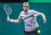 Rotterdam, The Netherlands, 27 Februari 2021, ABNAMRO World Tennis Tournament, Ahoy, Qualyfying match: Tallon Groekspoor  (NED)<br /> Photo: www.tennisimages.com/henkkoster