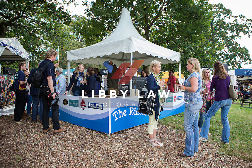 NZL-Andrew Nicholson BOOK LAUNCH - FOCUSED: Published by The Racing Post: 2014 GBR-Land Rover Burghley Horse Trial (Friday 5 September) CREDIT: Libby Law COPYRIGHT: LIBBY LAW PHOTOGRAPHY - NZL