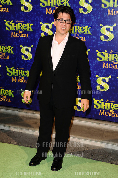 """Michael McIntyre arrives for the 1st night party of """"Shrek The Musical"""" at Somerset House, London. 14/06/2011  Picture by: Steve Vas / Featureflash"""