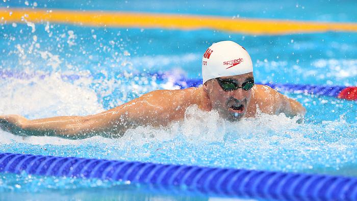 Benoit Huot, Rio 2016 - Para Swimming // Paranatation.<br /> Benoit Huot competes in the men's 200m IM  finals // Benoit Huot participe à la finale du 200 m QNI masculin. 11/09/2016.