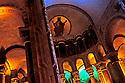 01/03/96 - ISSOIRE - PUY DE DOME - FRANCE - L un des 5 chef d oeuvre d Art Roman Auvergnat. La Basilique SAINT AUSTREMOINE - Photo Jerome CHABANNE