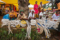 Gond tribe people at Lohandiguda market in Chhattisgarh India