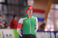 SPEEDSKATING: ERFURT: 19-01-2018, ISU World Cup, 500m Men B Division, Ignat Golovatsiuk (BLR), photo: Martin de Jong