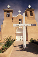 San Francisco De Asis, church, Taos, mission, NM, New Mexico, San Francisco De Asis a mission church that exemplifies Franciscan Old World architecture in Taos.