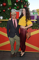 Clinton H. Wallace, Natasha Blasick<br /> at the Salvation Army Red Kettle Celebrity Kick-Off Event, The Grove, Los Angeles, CA 11-30-17<br /> David Edwards/DailyCeleb.com 818-249-4998