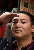 China, Peking (Beijing), beim Qianmen
