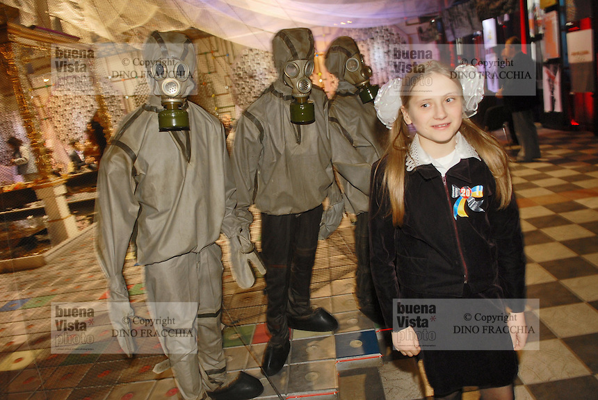 - 20 years from the nuclear incident of Chernobyl, the Chernobyl museum in Kiev ....- 20 anni dall'incidente nucleare di Chernobyl, il museo Chernobyl a Kiev