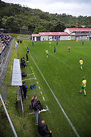 Action from the Central League football match between Miramar Rangers and Lower Hutt AFC at David Farrington Park in Wellington, New Zealand on Saturday, 10 April 2021. Photo: Dave Lintott / lintottphoto.co.nz