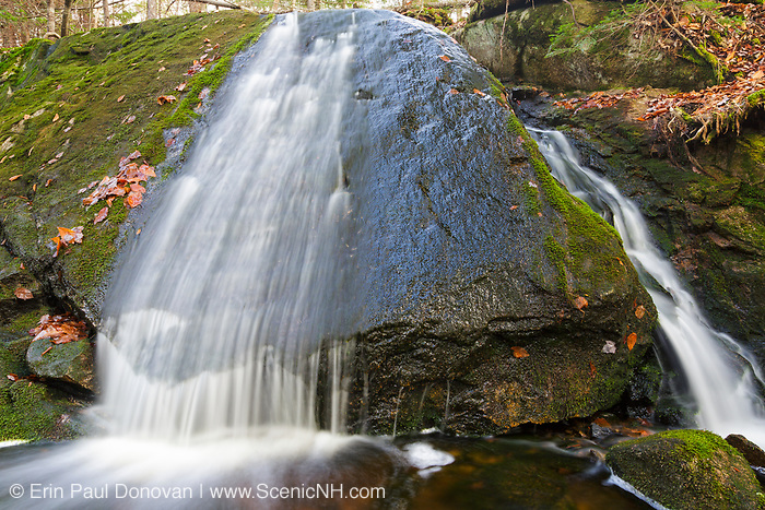 An unnamed brook in the area of Mount Cilley in Woodstock, New Hampshire USA.