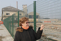 - Anna Maria Giovanola, worker of Eternit plant in Casale Monferrato, poisoned by asbestos, on the former site of the factory now dimantled<br /> <br /> - Anna Maria Giovanola, lavoratrice dello stabilimento Eternit di Casale Monferrato, intossicata dall'amianto, sul luogo dove sorgeva lo stabilimento, oggi smantellato