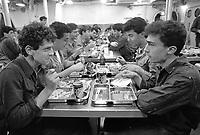 - Italian Navy, Vittorio Veneto cruiser, crew mess (May 1984)<br /> <br /> - Marina Militare Italiana, incrociatore Vittorio Veneto, mensa equipaggio (Maggio 1984)