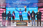 Ruben Guerreiro (POR) EF Pro Cycling wins Stage 9 and also takes over the mountains Maglia Azzurra of the 103rd edition of the Giro d'Italia 2020 running 208km from San Salvo to Roccaraso (Aremogna), Sicily, Italy. 11th October 2020.  <br /> Picture: LaPresse/Gian Mattia D'Alberto   Cyclefile<br /> <br /> All photos usage must carry mandatory copyright credit (© Cyclefile   LaPresse/Gian Mattia D'Alberto)