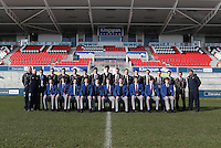 CAI vs RBAI | Tuesday 3rd March 2015<br /> <br /> Coleraine Academical Institution squad for the 2015 Ulster Schools Cup Semi-Final between Coleraine Inst and RBAI at the Kingspan Stadium, Ravenhill Park, Belfast, Northern Ireland.<br /> <br /> Picture credit: John Dickson / DICKSONDIGITAL