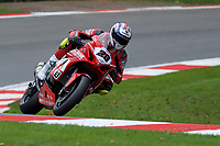 Bradley Ray (28) of Buildbase Suzuki during 2nd practice in the MCE BRITISH SUPERBIKE Championships 2017 at Brands Hatch, Longfield, England on 13 October 2017. Photo by Alan  Stanford / PRiME Media Images.