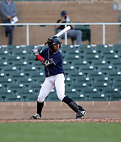 Joaan De Jesus participates in the MLB International Showcase at Salt River Fields on November 12-14, 2019 in Scottsdale, Arizona (Bill Mitchell)