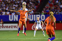 Atlanta, GA - Sunday Sept. 18, 2016: Vivianne Miedema during a international friendly match between United States (USA) and Netherlands (NED) at Georgia Dome.