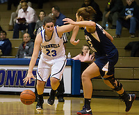 St. Mary's Ryken defeated the Bishop O'Connell Lady Knights in varsity basketball by a score of 58-41 at O'Connell in Arlington on 14 December 2012.