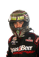 Mar. 18, 2011; Chandler, AZ, USA;  LOORRS driver Rodrigo Ampudia poses for a portrait at Firebird International Raceway. Mandatory Credit: Mark J. Rebilas