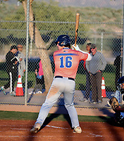 Tommy White takes part in the 2020 Under Armour Pre-Season All-America Tournament at the Chicago Cubs training complex and Red Mountain baseball complex on January 18-19, 2020 in Mesa, Arizona (Bill Mitchell)