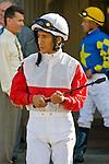 20 June 2009: Edgar Prado before the Colonial Turf Cup (Gr II) stakes race.