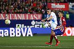 Atletico de Madrid´s Kranevitter and Deportivo de la Coruna´s Faycal during 2015-16 La Liga match between Atletico de Madrid and Deportivo de la Coruna at Vicente Calderon stadium in Madrid, Spain. March 12, 2016. (ALTERPHOTOS/Victor Blanco)