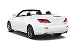 Car pictures of rear three quarter view of a 2015 Lexus IS 350C 2 Door Coupe Angular Rear