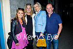 Enjoying the evening in Listowel on Thursday, l to r: Mary Ellen Quill (Athea), Michelle and Katie Mulvihill (Athea) and Jimmy Quinlan.