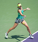 Maria Sharapova (RUS) defeats Sara Errani (ITA) 7-5, 7-5 at the Sony Open being played at Tennis Center at Crandon Park in Miami, Key Biscayne, Florida on March 27, 2013