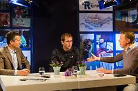 Rotterdam, Netherlands, 12 Februari, 2018, Ahoy, Tennis, ABNAMROWTT, Richard Krajicek, Thiemo de Bakker (NED)<br /> Photo:tennisimages.com