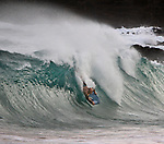 The scene at Magic Island, Honolulu, HI