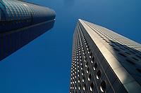 China, Hongkong-Central, Exchange-Square Tower + Jardine-House