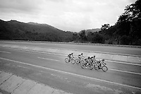 A 5 man breakaway would stay ahead for most of the (rainy) day<br /> <br /> Tour of Turkey 2014<br /> stage 4