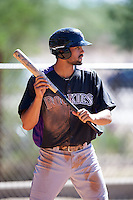 Colorado Rockies Jacob Bosiokovic (88) during practice before an Instructional League game against SK Wyvern of Korea on October 5, 2016 at Salt River Fields at Talking Stick in Scottsdale, Arizona.  (Mike Janes/Four Seam Images)