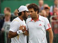 03-07-12, England, London, Tennis , Wimbledon, Jean-Julen Rojer and his dubbles partner Alsam-Ul-Haq Qureshi
