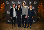 """Will Hochman, Mary Louise Parker, Adam Rapp and David Cromer during the Press Preview Photo Call for """"The Sound Inside"""" at Studio 54 on September 20, 2019 in New York City."""
