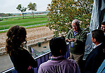 October 27, 2015 :  Donegal Racing President Jerry Crawford talks with guests at the Trackside Marquee at Keeneland Race Track as Breeders' Cup hopefuls train through the remnants of Hurricane Patricia in Lexington, Kentucky. Scott Serio/ESW/CSM
