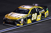 CONCORD, NORTH CAROLINA - MAY 24: Erik Jones, driver of the #20 DEWALT Atomic Thank You Toyota, drives during the NASCAR Cup Series Coca-Cola 600 at Charlotte Motor Speedway on May 24, 2020 in Concord, North Carolina. (Photo by Chris Graythen/Getty Images)