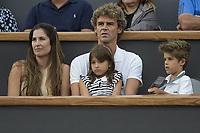 Rio de Janeiro (RJ), 23/02/2020 - Rio Open 2020 - Gustavo Kuerten, no Rio Open 2020, etapa ATP 500 do circuito mundial de Tenis, no Jockey Club Brasileiro no Rio de Janeiro (RJ), nesta domingo (23). (Foto: Andre Fabiano/Codigo 19/Codigo 19)