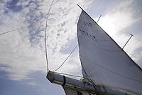 - sailing boat in navigation <br /> <br /> - barca a vela in navigazione