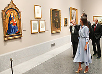 MADRID, SPAIN-September 13: **NO SPAIN** Queen Letizia of Spain attends Opening of the exhibition 'Forty years of friendship. Donations from the Friends of the Prado Museum Foundation' at Prado Museum on September 13, 2021 in Madrid, Spain. Credit: Jimmy Olsen/MediaPunch