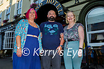 Enjoying the evening in the Grand Hotel on Sunday, l to r: Tracy and Mike Connelly and Sinead Crean.