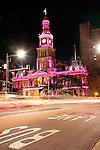 Town Hall at Night, Sydney, Australia